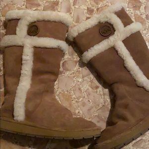 Michael Kors soft boots